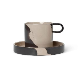ferm-LIVING-Inlay-Cup-With-Saucer-Sand-Black_1_resort-conceptstore