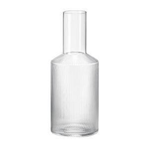 ferm-living-glaskaraffe-ripple-transparent_1_resort-conceptstore